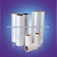 different size lldpe plastic wrapping film price pallet wrap