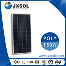 Top selling cheap photovoltaic 150w poly energy solar power panel
