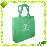 fashionable grocery shopping reusable eco-friendly recyclable 100% new pp non-woven promotion tote bag
