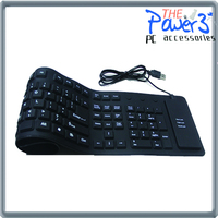Newest 7inch or 8inch Tablet PC foldable silicone keyboard for galaxy