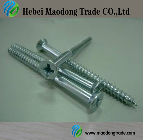 Professional Hex head wood screw with high quality