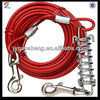 Red Tie Out Cable with spring