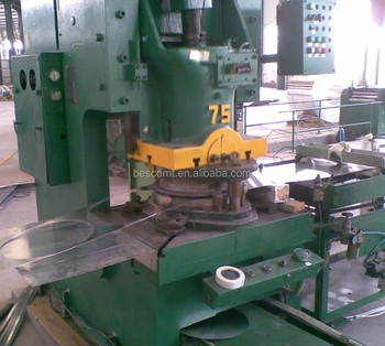 stainless steel circle cutting machine by punch