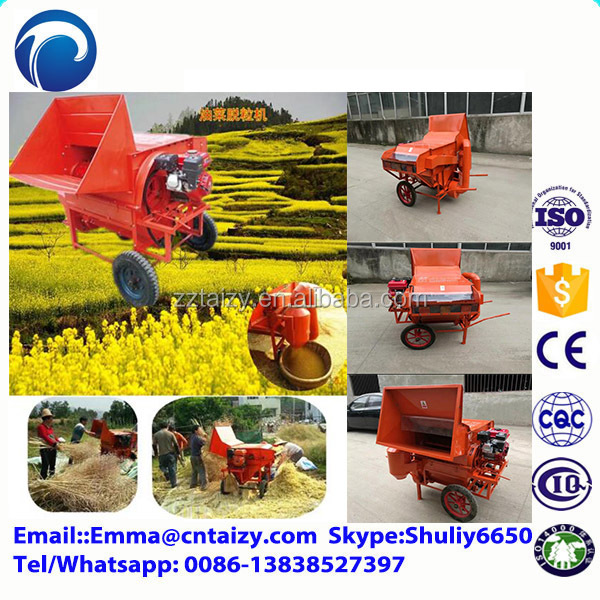 price rice threshing machine Agriculture rice and wheat thresher machine Special Design Rice and Wheat Thresher for the Hilly