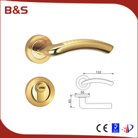 Factory hot-sale advertising board printing door lock types with lexus / silicone door handle cover