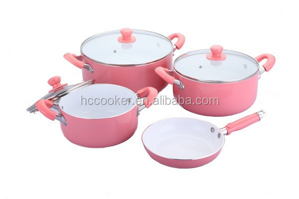 hot sell 2015 new design happy baron cookware set