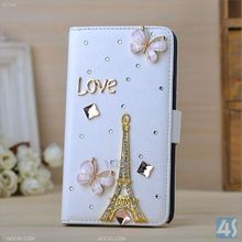 2014 fashion mobile rhinestone phone case 3D Bling Design for Samsung Galaxy Note 3--P-SAMN9000CASE048