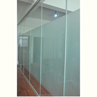 New products curved office partition office partition glass wall doors interior