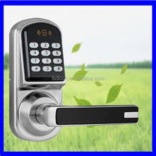 digital handles central door lock