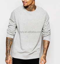 custom plain collared sweat suits blank mens crewneck sweatshirt