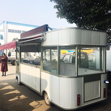 China mobile electric dining street car