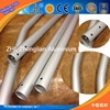 6000 series aluminum extrusion with drilling round holes square holes / aluminum t shape extrusion cnc frame
