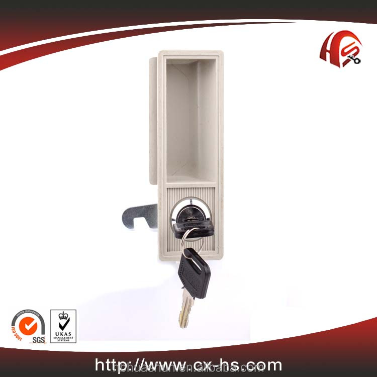 HS314 high quality zinc alloy door lock disc cam lock metal cabinet plastic handle locker lock
