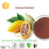 Alibaba China HACCP Kosher FDA manufacturer supply best cocoa powder,free sample for trial 10% theobromine Cocoa extract