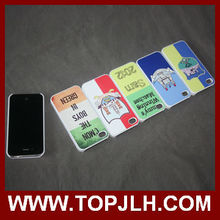 2014 wholesale fashion sublimation phone case for ipone 4s