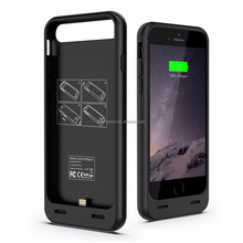 MFI battery pack for iPhone 7/8 with 3100 mAh TPU+ABS wholeset Power Case,with protect bumper ,OEM provided
