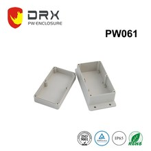 Outdoor IP68 waterproof hinged plastic electrical enclosure