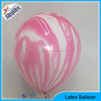 Decorative Multicolor Rainbow Latex Balloons For Promotion