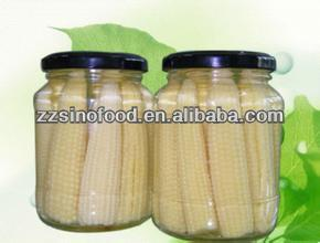 thailand pickled canned whole baby corn