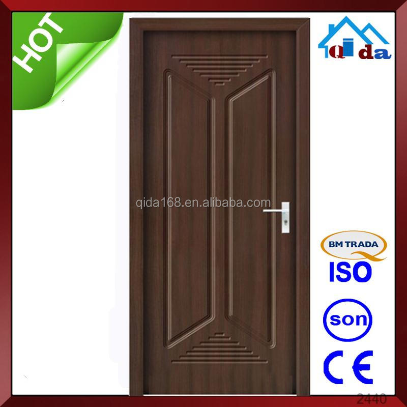 Modern malaysia wood hdf single leaf door pictures