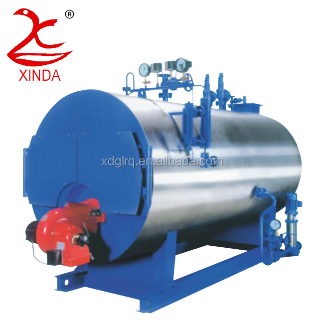 Pollution Free Gas Fired 2 T / Hour Boiler 1.0 Mpa