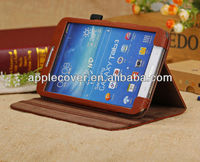 Slim Litchi Leather Case for Samsung Galaxy Tab 3 8.0 T310/311with stand
