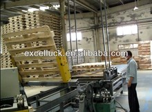 Automatic wood pallet machine / wood pallet making machine