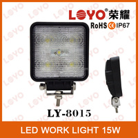 IP67 spot/flood beam Auto Led Work 15W Led Working Light Led Worklight