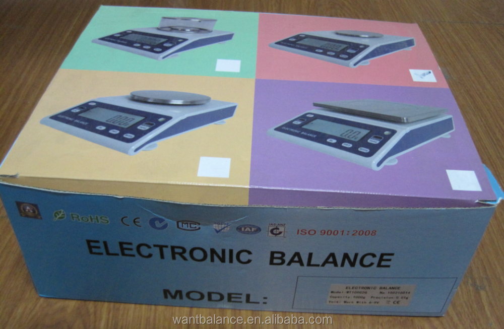 0.01g electronic digital weighing scale balance