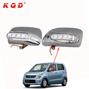 Beautiful car accessories chrome door mirror cover high fitment for suzuki wagon r