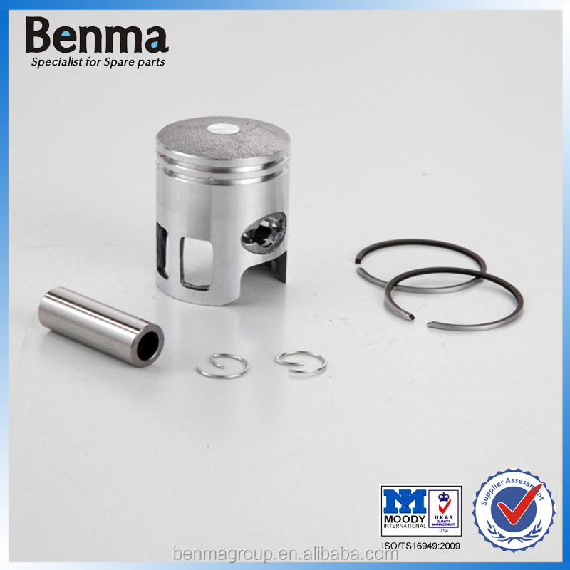 ceramic piston factory sell, most popular JOG 50 piston with top quality,