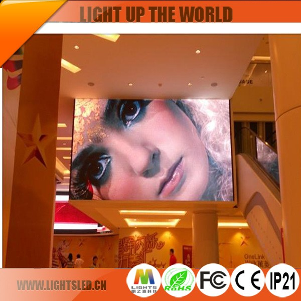 High Definition indoor full color p5 LED display, LED video panel wall with low price for advertising