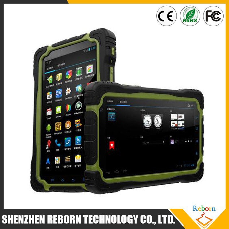 Shenzhen 7 Inch cheap MT6589T Quad core 3G Rugged Tablet Pc T70H With GPS WIFI Bluetooth