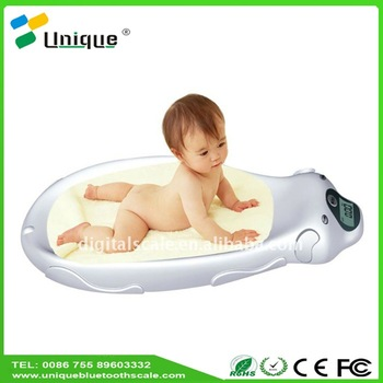 Big weighing health solutions digital talking analog set pediatric growth baby scale bath in grams