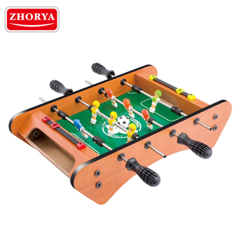 zhorya classic indoor game sports MDF material party mini soccer table for sale