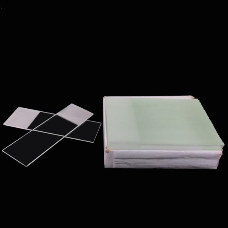 7107  unground edges microscope frosted slide set for basic biological