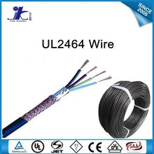 CE certificate Computer Cable UL2464 Shielded Electrical hook up wire Braided 16awg 18awg 20awg 22awg 24awg 26awg 28awg 30awg