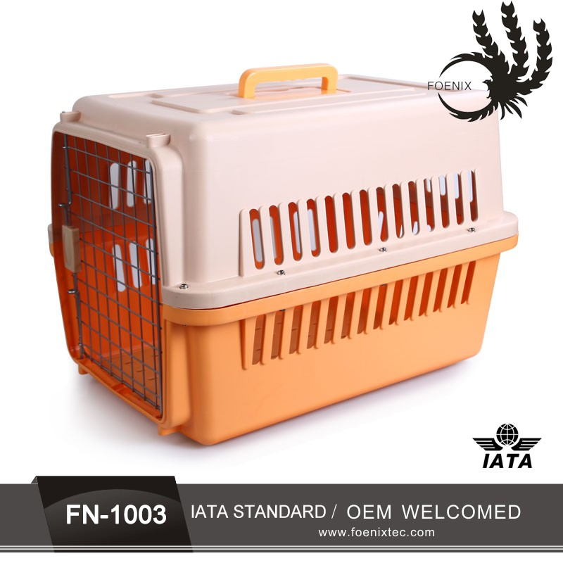 Dog cage pet carrier aviation dog cage six different sizes airline pet display cage