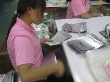 Inspecting and packaging