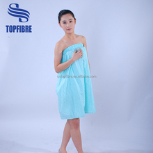10105 Machine Washable Easy Care and Tumble dry Ladies Spa Body Wrap Towel
