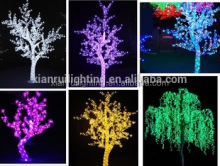 Creative acrylic outdoor tree lighting ideas