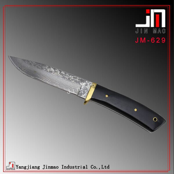 Damascus Steel Fixed Blade Knife