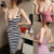 party Fashion Ladies' Summer Stripe Sleeveless Sling Strap Vest Evening Party Dress SV002378