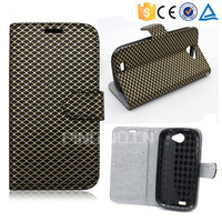 Wholesale leather flip cover case for Zte Blade A452 , flip leather case for Zte Blade A452