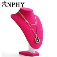 ANPHY T04-4 Jewelry Neck Display Model Fashion Jewelry Display Stands Bust