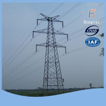 Sold 35kv four legs power transmission line iron tower