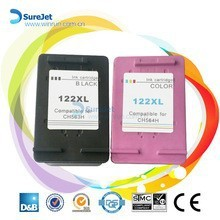 Compatible cartridge for HP 122 Deskjet series remanufactured ink cartridge wholesale