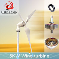 china 5000w/5kw China Famous Brand wind turbine generator 220v 380v