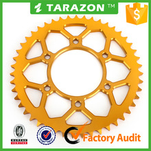 7075 Motorcycle rear sprocket for YAMAHA R15