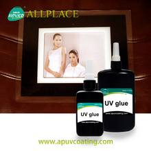 UV Cure Yellowing Resistant UV Adhesive For Photograph Paper
